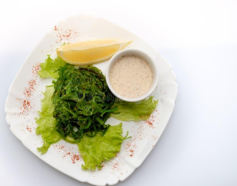 Sallad med alger fotografering för bildbyråer