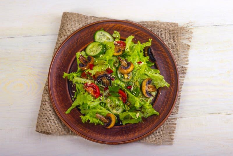 Salladgrönsak arkivbild