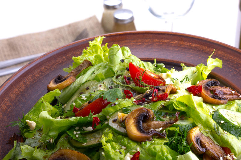 Salladgrönsak arkivbilder