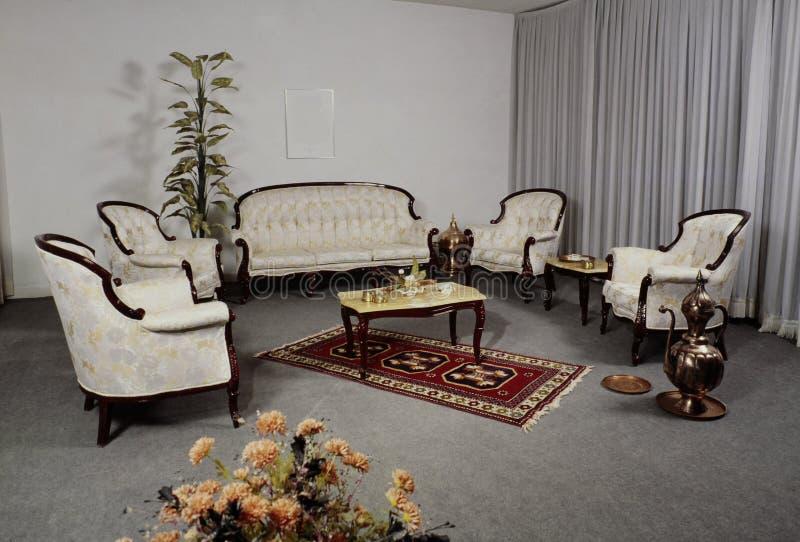 Salle à manger de conception moderne, chambre à coucher, ensembles de salon images libres de droits