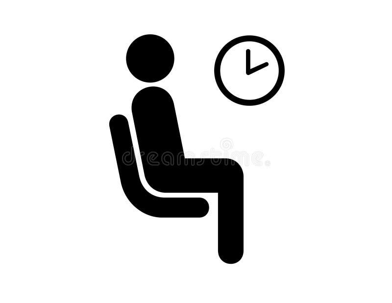 Salle d'attente illustration de vecteur