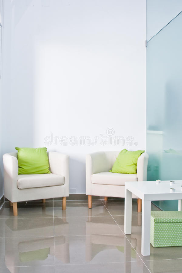 Salle d'attente de Brandable photo stock