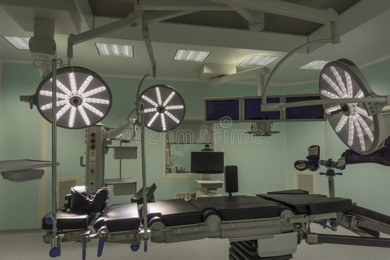 Salle d'opération moderne photo stock