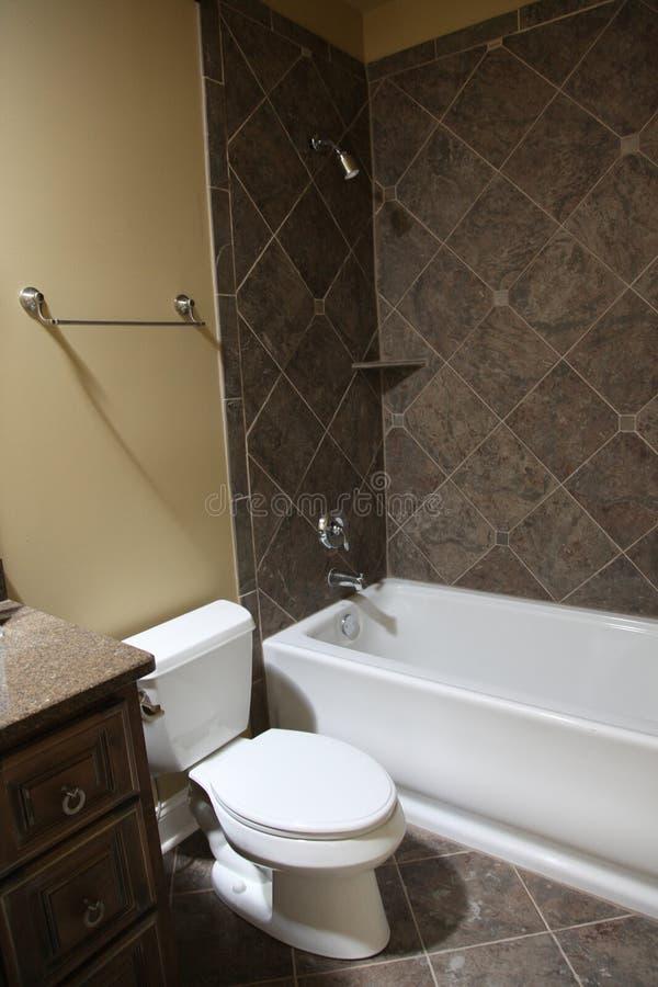 Salle de bains à la maison d'invité de Tennesee image libre de droits