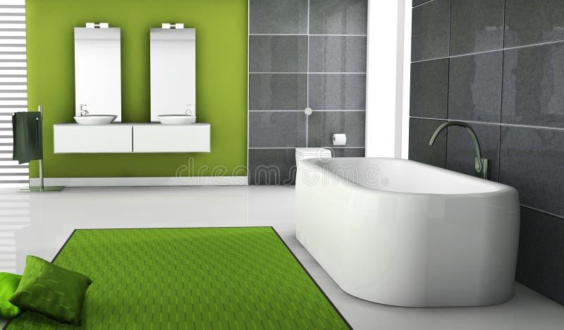 Salle de bains illustration de vecteur