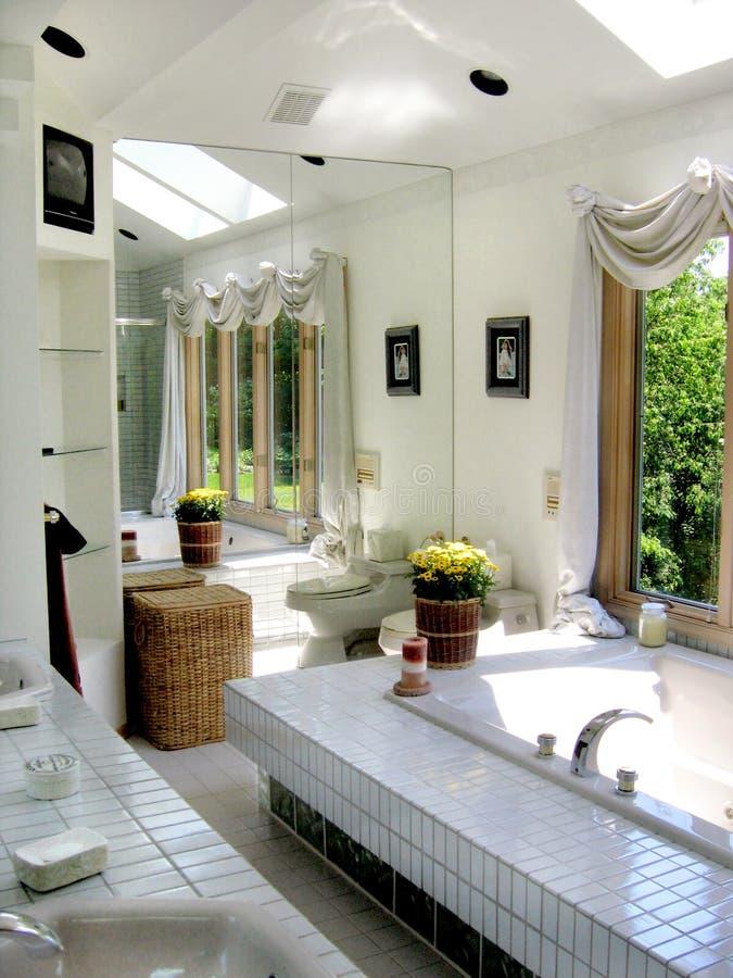 Salle de bains de Contempory photos libres de droits