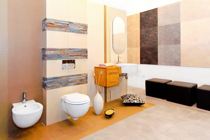 Salle de bains de marbre images stock