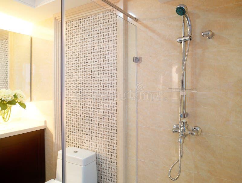 Salle de bains de marbre images libres de droits