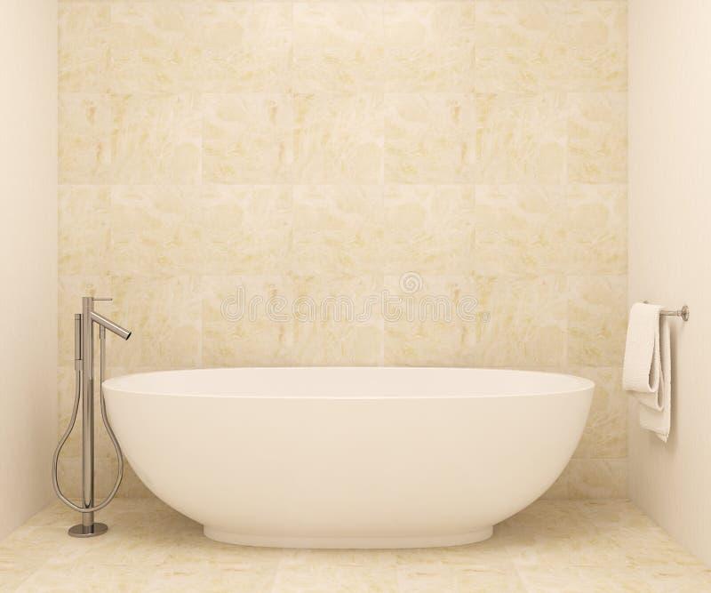 Salle de bains moderne illustration de vecteur