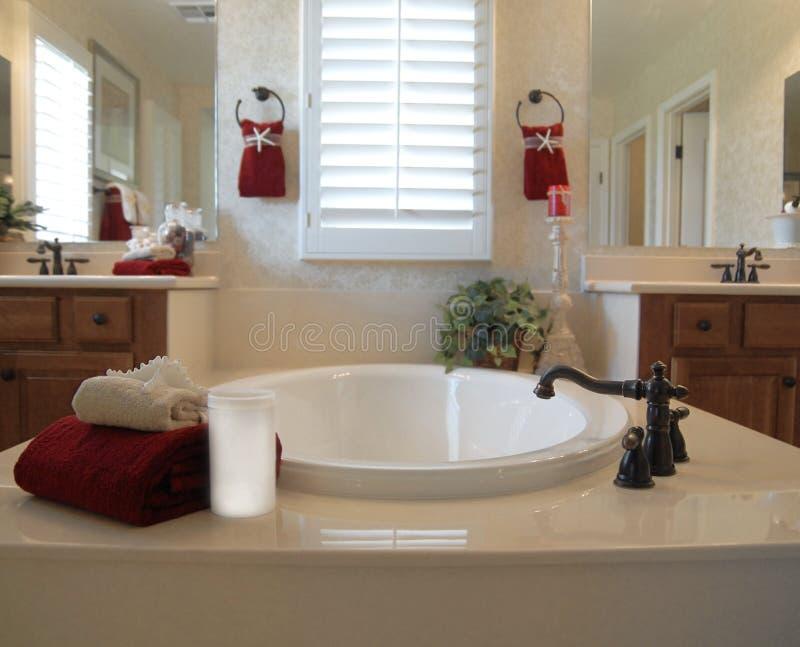 Salle de bains neuve photographie stock libre de droits