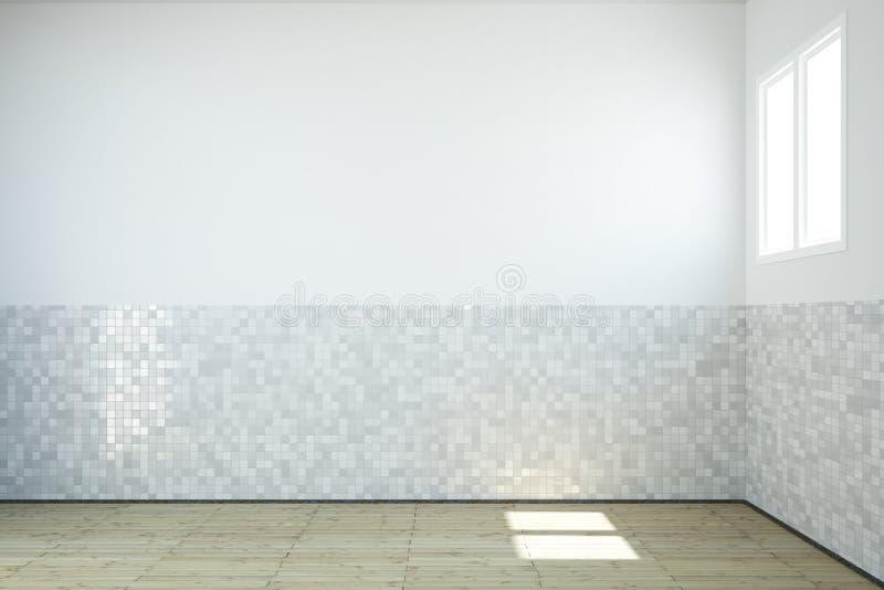 Salle de bains vide illustration libre de droits
