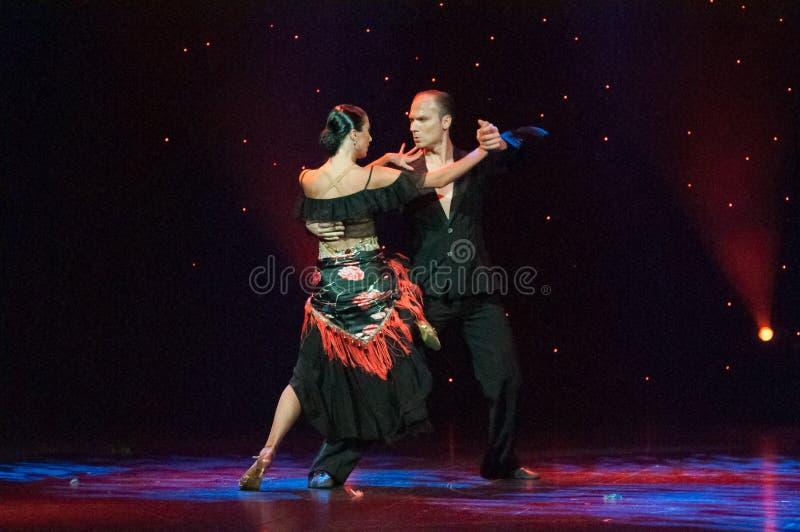 Salle de bal de tango photos libres de droits