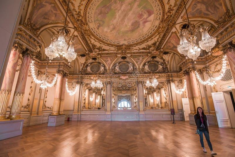 Salle de bal du musée d'Orsay, Paris, France image libre de droits