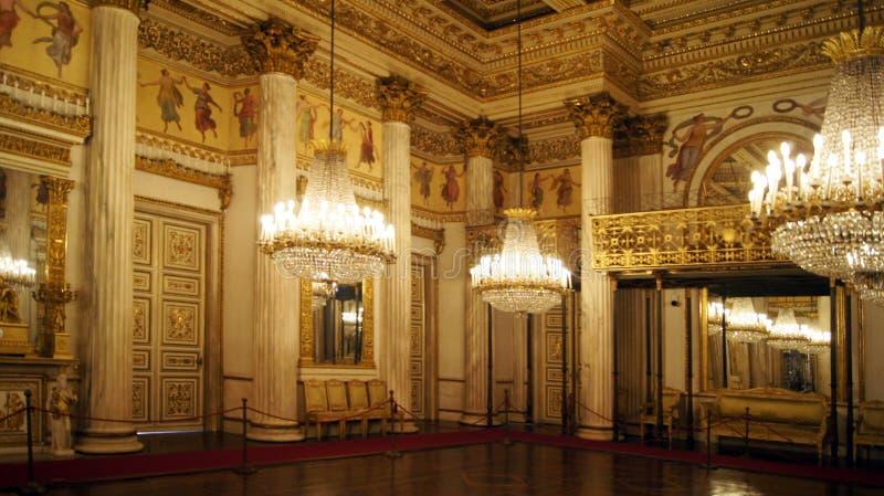 Salle de bal de Turin Royal Palace images libres de droits