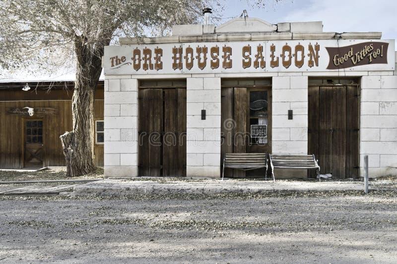 Salle de Chambre de minerai dans Ione Nevada image stock