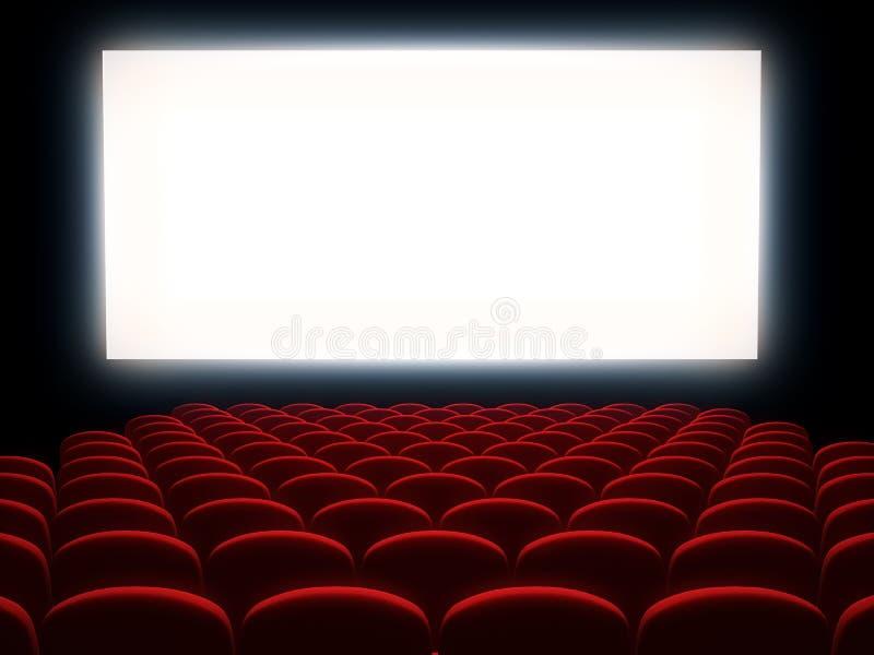 Salle de cinéma illustration stock