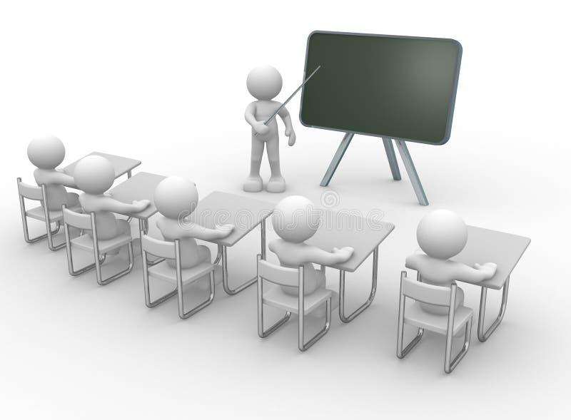 Salle de classe illustration de vecteur