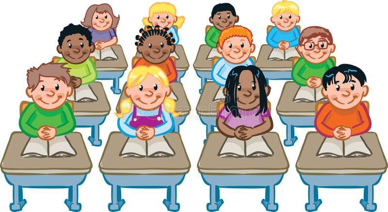 Salle de classe illustration stock