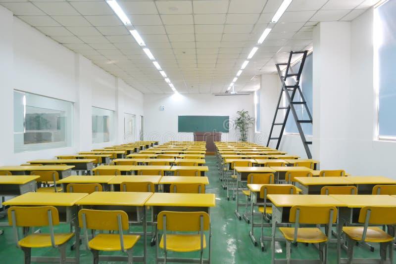 Salle de classe photo stock