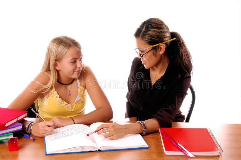 Salle de classe apprenant 2 image libre de droits