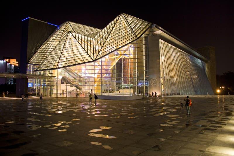 Salle de concert de Shenzhen photo stock