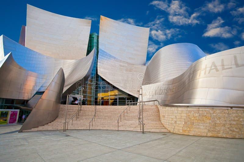 Salle de concert Walt Disney photo libre de droits