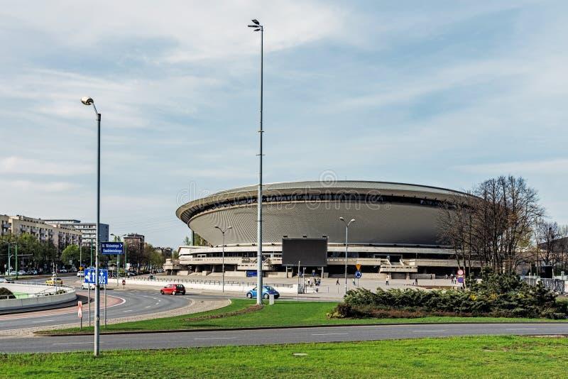 Salle de gymnastique Spodek photos stock