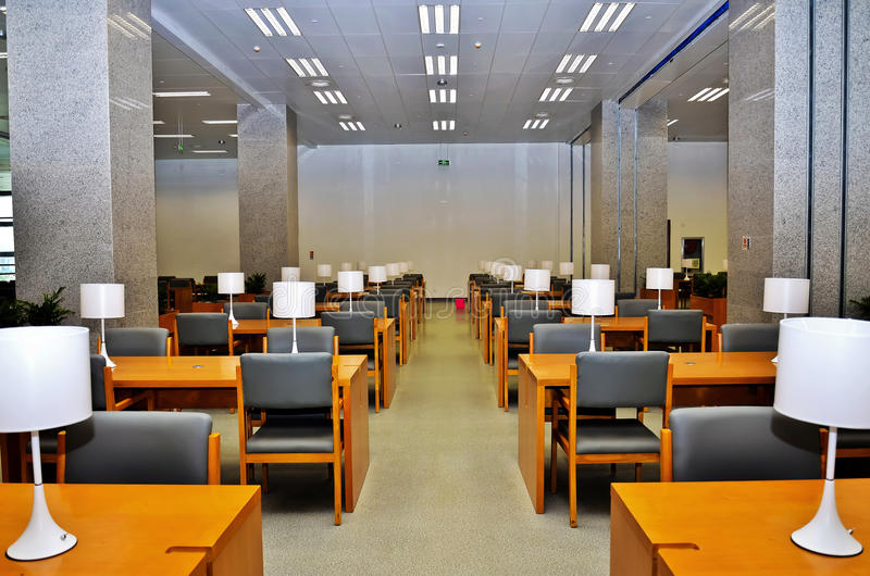 Salle de lecture photos libres de droits