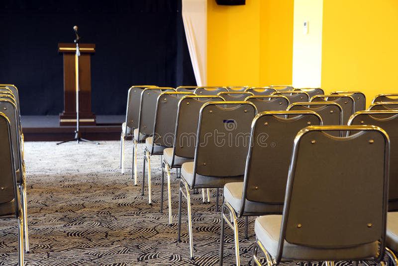 Salle de réunion  image stock