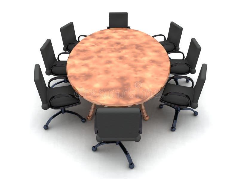 Salle de réunion 2 illustration stock