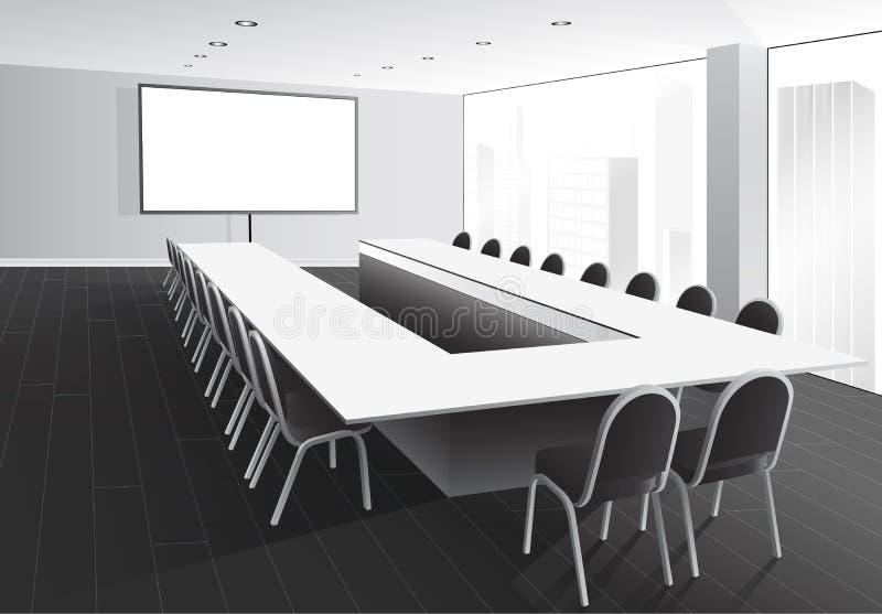 Salle de réunion illustration stock