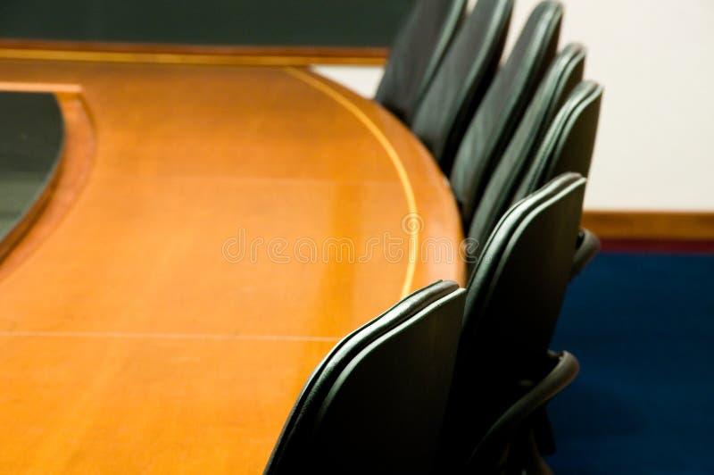 Salle de réunion blanc images stock
