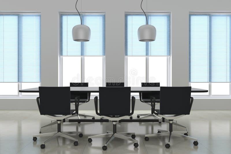 Salle de réunion moderne illustration libre de droits