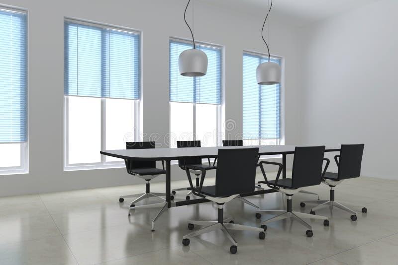 Salle de réunion moderne illustration de vecteur