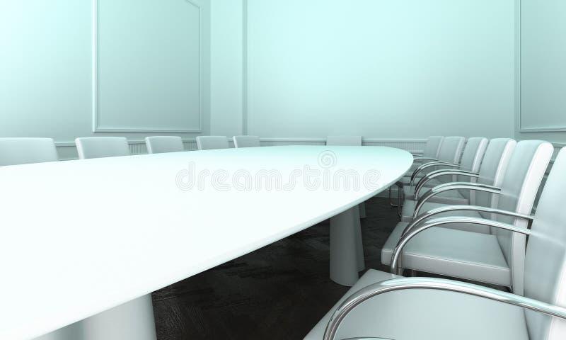Salle de réunion simple images stock