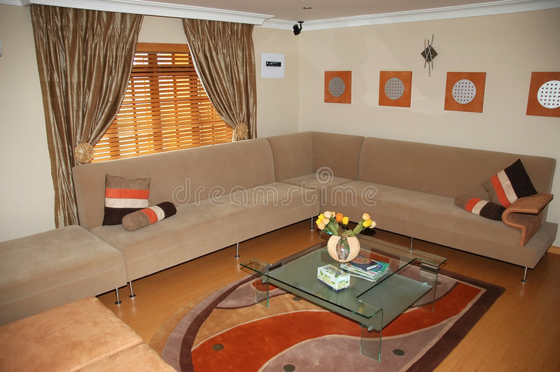 Download Salle de séjour photo stock. Image du conception, architecture - 730940