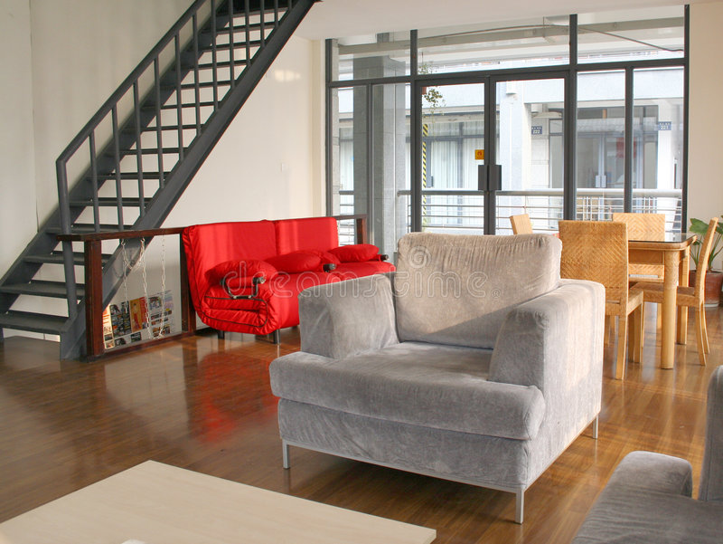 Download Salle de séjour photo stock. Image du pièce, luxe, lifestyle - 734424