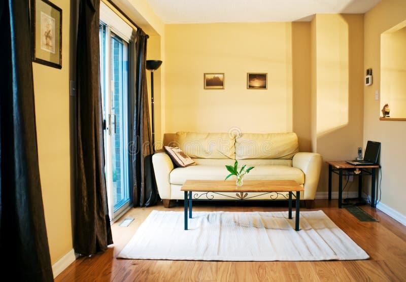 Salle de séjour confortable photographie stock libre de droits