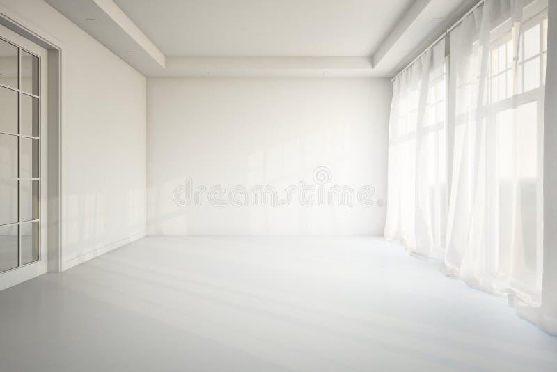 Salle de séjour vide illustration stock