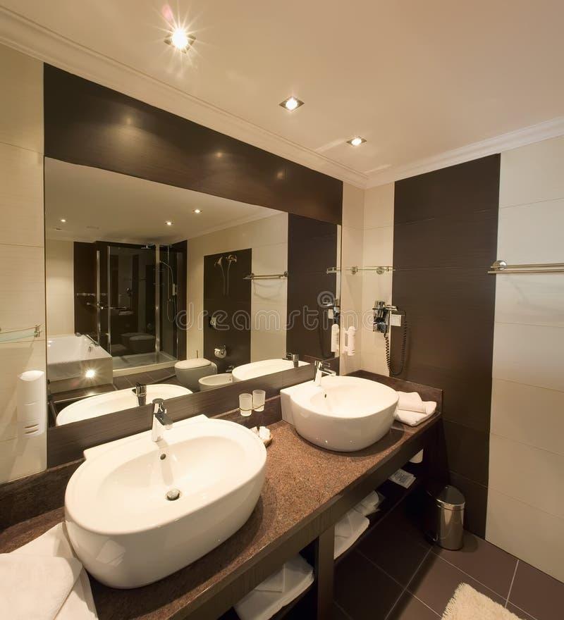 Salle de toilette élégante image libre de droits