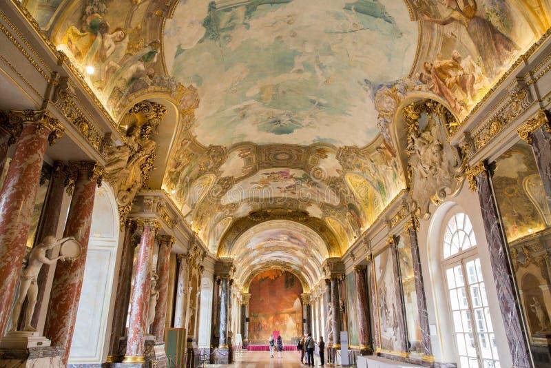 Salle DES Illustres im Capitole das Toulouse lizenzfreies stockfoto
