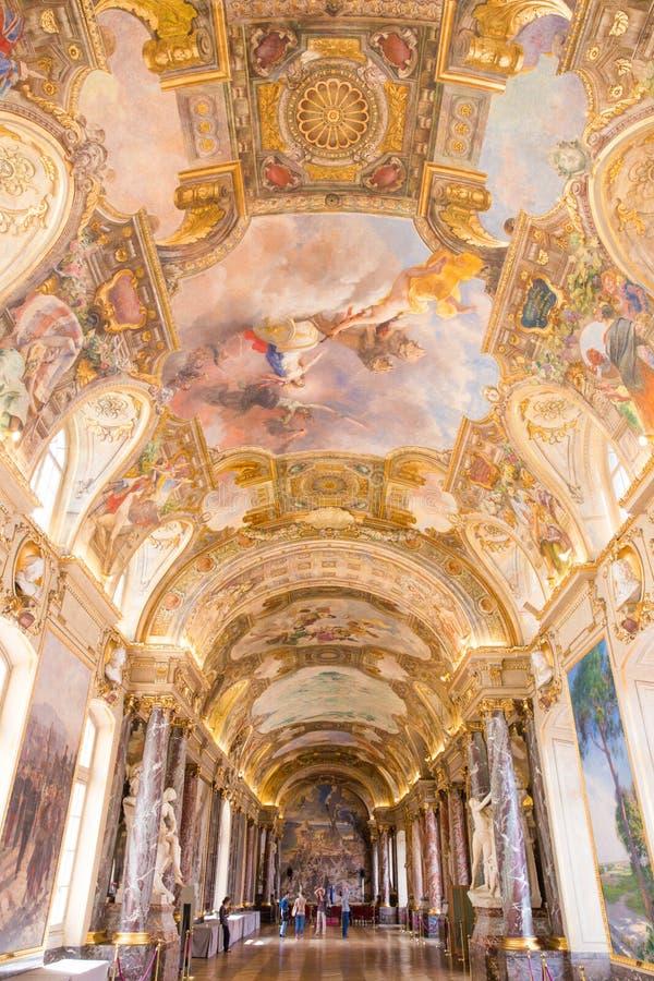Salle DES Illustres im Capitole das Toulouse stockfotos