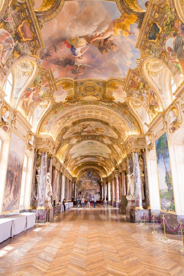 Salle des Illustres w Capitole Tuluza zdjęcie stock