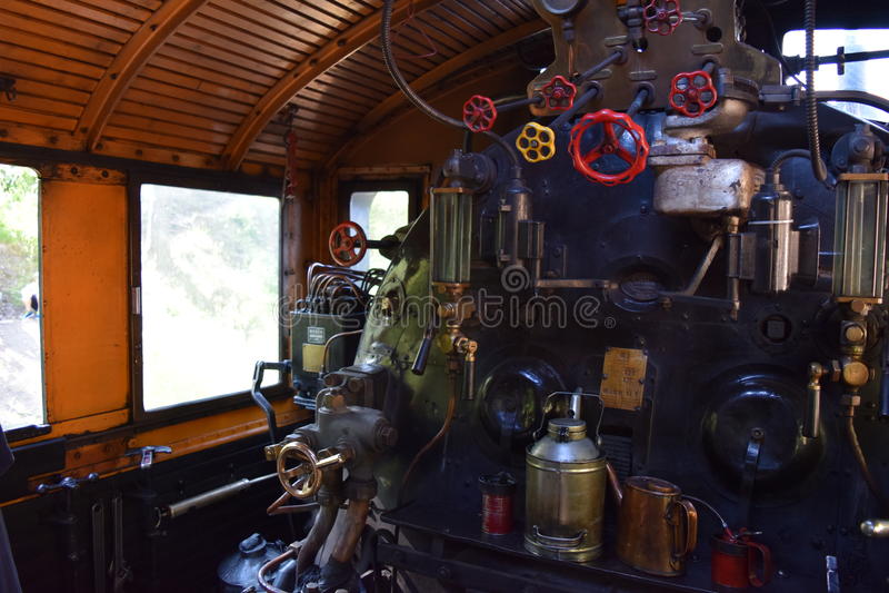 Salle des machines Ukko-Pekka, classe Hr1, 1009 image stock