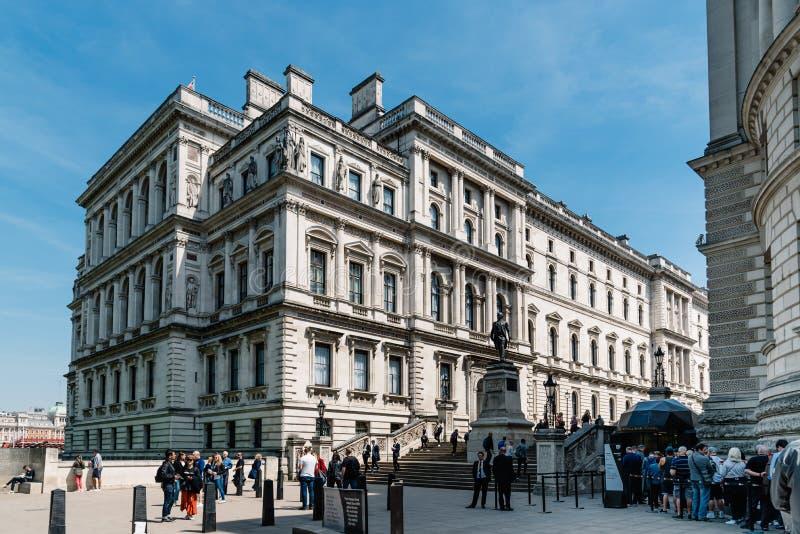 Salles 'op?rations renseignement' et Robert Clive Memorial de Churchill ? Londres image libre de droits