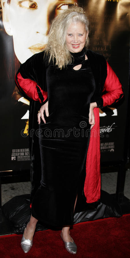 Sally Kirkland. WESTWOOD, CALIFORNIA. Thursday January 4, 2007. Sally Kirkland attends the Los Angeles of `Freedom Writers` held at the Mann Village Theater in stock photo
