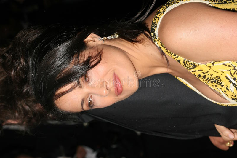 Salma Hayek imagens de stock royalty free