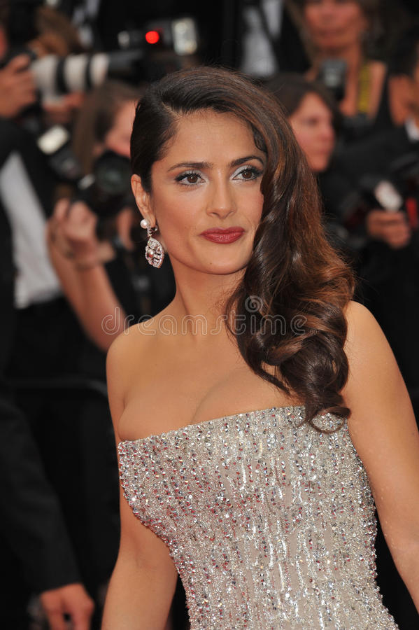 Salma Hayek stock foto