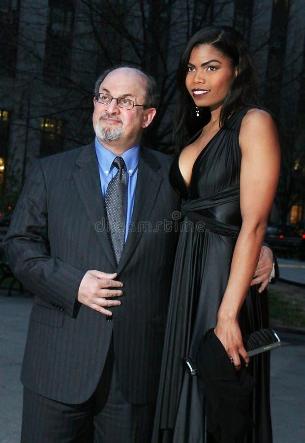 Salman Rushdie fotos de stock