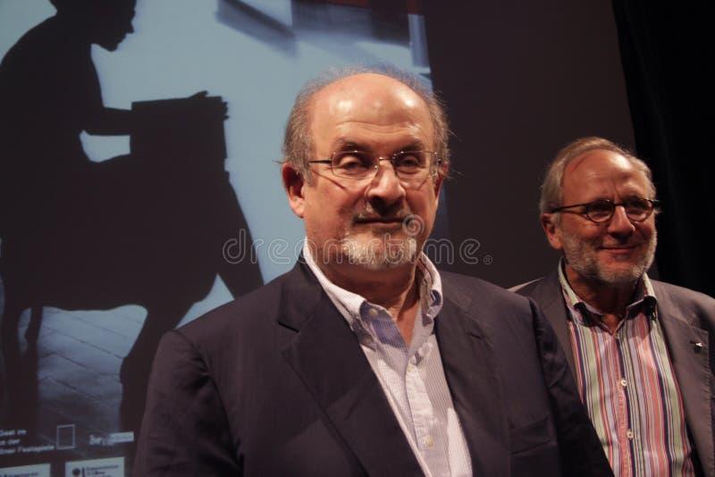 Salman Rushdie stockbilder
